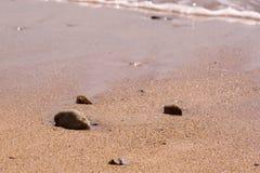 Praa lixa a praia, Cornualha, Reino Unido Foto de Stock