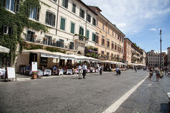 Praça Navona, Roma Foto de Stock