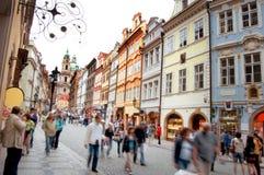 Praag. stock afbeeldingen