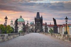 Praag. stock foto