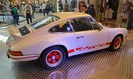 PRAAG - APRIL 14: De reeks van Porsche Carrera RS F (1973) Stock Fotografie