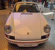 PRAAG - APRIL 14: Porsche Carrera RS (1973) Royalty-vrije Stock Foto's