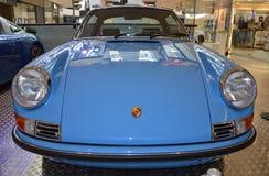PRAAG - APRIL 14: Porsche 911 reeksen van Targa F (1973) Stock Foto's
