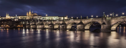 Praag Charles Bridge Royalty-vrije Stock Afbeelding