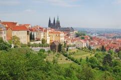 praag De lente Berounheuvels Tsjechische Republiek Royalty-vrije Stock Fotografie