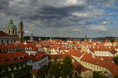 Praag, de meest romantische stad royalty-vrije stock afbeelding