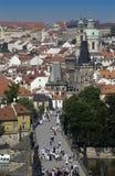 Praag in de Tsjechische Republiek - Europa Royalty-vrije Stock Afbeeldingen