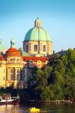 Praag, hoofdstad van Tsjechische Republiek Royalty-vrije Stock Fotografie
