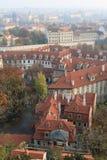 Praag, jaar 2011 Stock Afbeeldingen
