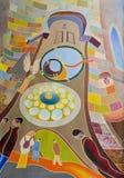 Praag orloj royalty-vrije illustratie