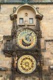 Praag Orloj stock afbeelding