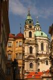 Praag-oude stad royalty-vrije stock afbeeldingen