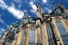 Praag - St. Vitus kathedraal Royalty-vrije Stock Afbeeldingen