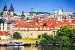Praag, staart Mesto, Tsjechische Republiek Stock Foto's