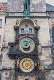 PRAAG, TSJECH - MAART 10, 2016: De astronomische klok van Praag Royalty-vrije Stock Afbeeldingen