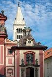 PRAAG, TSJECHISCHE REPUBLIC/EUROPE - 24 SEPTEMBER: De Heilige George Royalty-vrije Stock Foto's