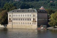 PRAAG, TSJECHISCHE REPUBLIC/EUROPE - 24 SEPTEMBER: Mening van Charles royalty-vrije stock fotografie