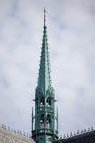 PRAAG, TSJECHISCHE REPUBLIC/EUROPE - 24 SEPTEMBER: Spits van St Vitus Stock Foto's