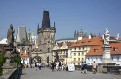 Praag - Tsjechische Republiek Royalty-vrije Stock Afbeelding