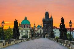 Praag, Tsjechische Republiek Stock Foto's