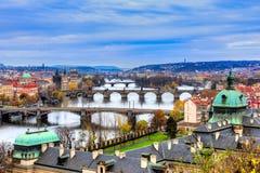 Praag, Tsjechische Republiek Stock Afbeelding