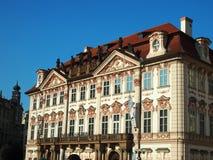 Praag, Tsjechische Republiek - 22 April, 2015: Narodni galerie Stock Afbeeldingen