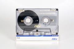 PRAAG, TSJECHISCHE REPUBLIEK - 20 FEBRUARI, 2019: Audio compact chroom 90 van cassettefuji DRII op plastic doos Audiocassette op  royalty-vrije stock afbeeldingen