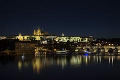 Praag, Tsjechische Republiek, keerde ik naar Praag terug Stock Foto