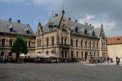 Praag, Tsjechische Republiek - 7 Mei, 2012: Paleis dichtbij B van StGeorge Stock Fotografie