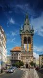 PRAAG, TSJECHISCHE REPUBLIEK - 20 SEPTEMBER, 2014: De Toren van Henry ` s Royalty-vrije Stock Afbeelding