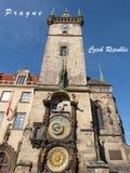 Praag (Unesco) Royalty-vrije Stock Afbeelding