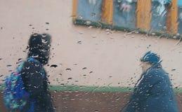 Praatje, Becej, Servië Stock Fotografie