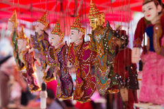 prabang рынка luang Лаоса Стоковые Фотографии RF