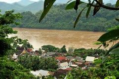 Prabang de Luang fotos de stock royalty free