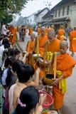 prabang Laos luang michaelita prabang Obrazy Royalty Free