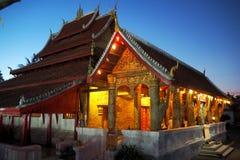 Prabang Luang виска в Lao Стоковое Изображение