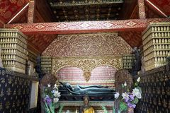 Prabang Luang виска в Lao Стоковые Фото