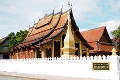 Prabang Luang виска в Lao Стоковые Изображения RF