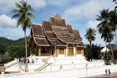 Prabang Luang виска в Lao Стоковое фото RF