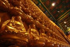 Prabaromracha Temple,Thailand. Asian temple , Wat prabaromracha at Thailand stock image