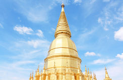 Prabudhabaht Huay Toom temple, Lamphun Thailand Royalty Free Stock Photos