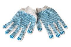Prac rękawiczki Zdjęcia Royalty Free