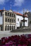 Praca da Republica - Viana do Castelo - Portugal Stock Photo