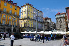 Praca da Ribeira Royalty Free Stock Photos