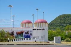 Praca de Toiros, Angra, Terceira, Αζόρες Στοκ Φωτογραφίες
