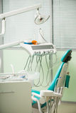 Praca dentysta no jest w ten sposób łatwa Zdjęcie Stock