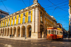 Praca do Comercio Royalty Free Stock Photo