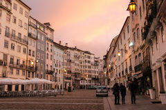 Praca do Comercio. Coimbra. Portugal Royalty Free Stock Photography