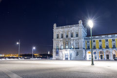 The Praca do Comercio (Commerce Square) in Lisbon. Stock Images