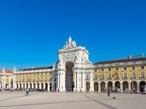 The Praca do Comercio Commerce Square royalty free stock image